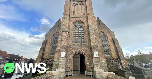 Il y aura un gymnase dans l'Eglise de Dranoutre. - Er komt een turnzaal in kerk Dranouter