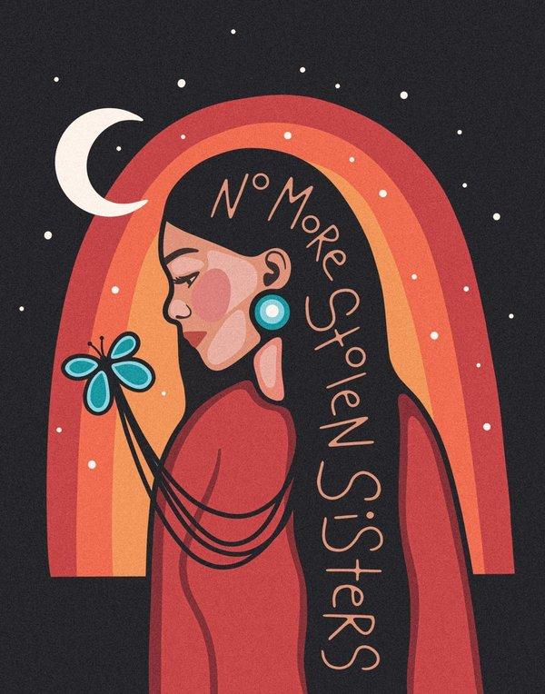 beautiful art by Alanah Jewell, Bear clan, Oneida Nation