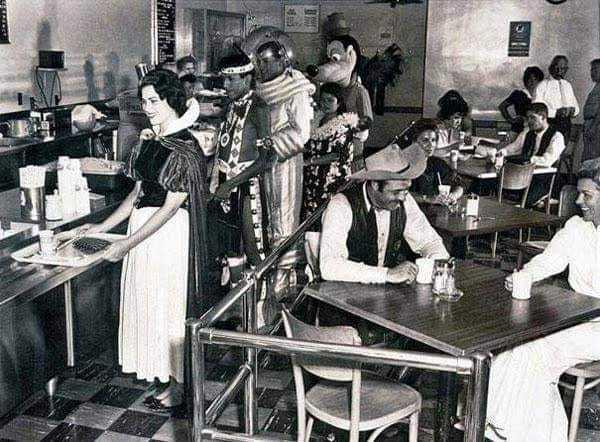 Disneyland Employee Cafeteria 1961