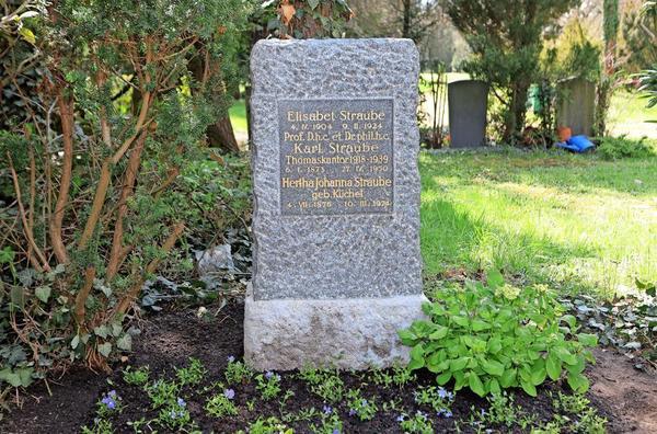 Die Grabstätte der Paul-Benndorf-Gesellschaft.Foto: André Kempner