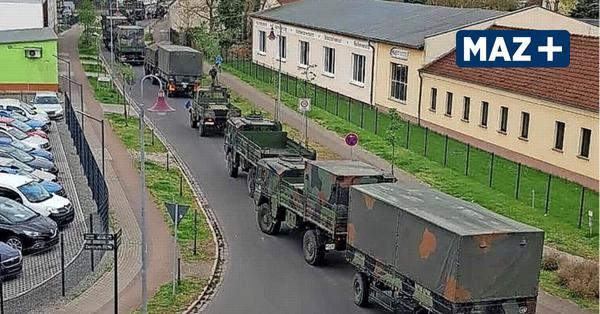 Rathenow: Bundeswehr auf Irrwegen - Kolonne bleibt an der Jederitzer Brücke stecken