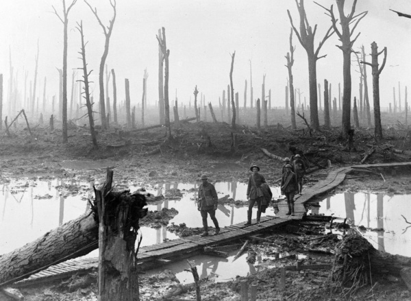 Australian soldiers of the 4th Division in WW1