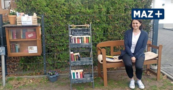 Falkensee: Büchertausch in der Weserstraße