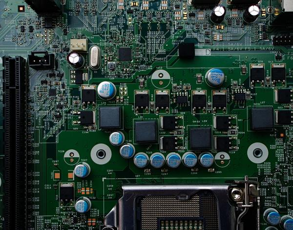 One of the hypothetical circuit boards that our factory produced.