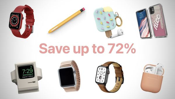Save on some of the best accessories for iPhone, iPad, Apple Watch and Mac