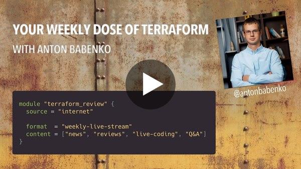 """Terraform in Action"" book with Scott Winkler - Your weekly dose of Terraform (Ep 32)"