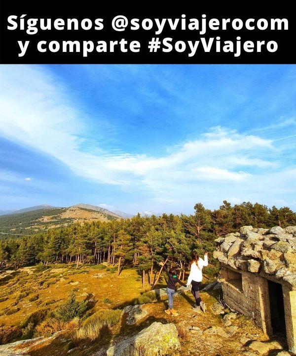 📸 : @lafamiliawanderlust // 📍Alto del León🇪🇸. Búnkers de la guerra civil que todavía quedan en la Sierra de Guadarrama.  #soyviajero #SoyOutsider //