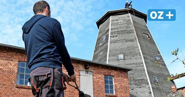 Wolgast:Neues Leben in alter Mühle auf dem Paschenberg