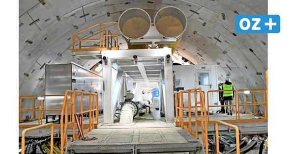 Schneller als geplant: Mehr als 300 Meter für Swine-Tunnel schon gebohrt