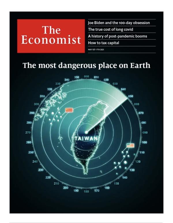 Couverture The Economist - 1er mai 2021