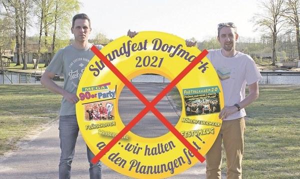 Dorfmarker Strandfest 2021 ist abgesagt - Heidekreis - Walsroder Zeitung