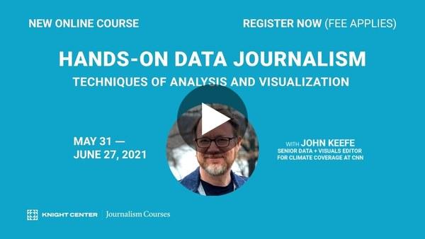 Hands-On Data Journalism | Promo video