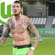 Bankdrücker in Wolfsburg: Aber Ginczek denkt (noch) nicht an einen Vereinswechsel