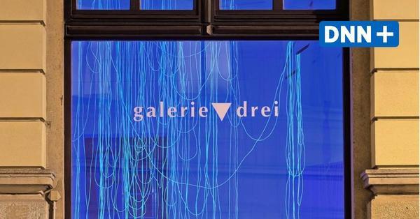 Schaufensterausstellung in der Dresdner Galerie drei