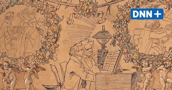 Dresden restituiert Zeichnung des Künstlers Moritz von Schwind