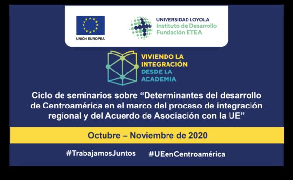 Event recording: Central America--un ciclo de seminarios que recorre la realidad centroamericana desde la perspectiva del enfoque regional del desarrollo