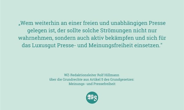 """"""" ... man darf doch hier schon längst nicht mehr alles sagen"""" - Meinung - Walsroder Zeitung"""