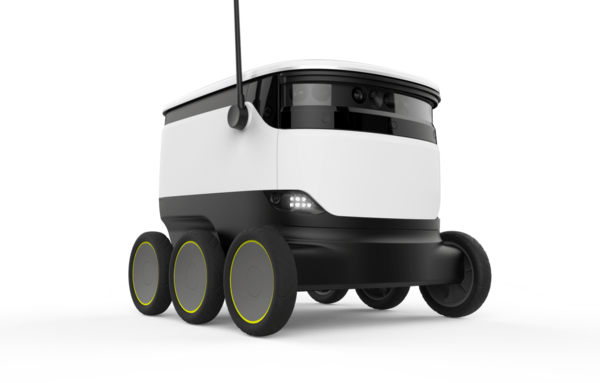 Starship Robots Delivering Costa Coffee in the U.K.