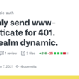 Only send www-authenticate for 401. Make realm dynamic. by mcollina · Pull Request #40 · fastify/fastify-basic-auth · GitHub