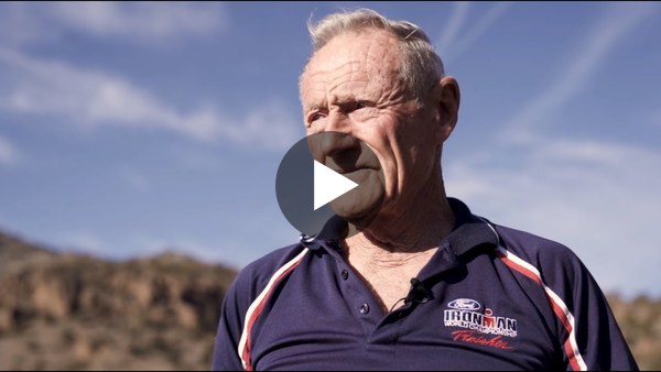 'What A Ride' 90-Year Old Ironman Lew Hollander's Story