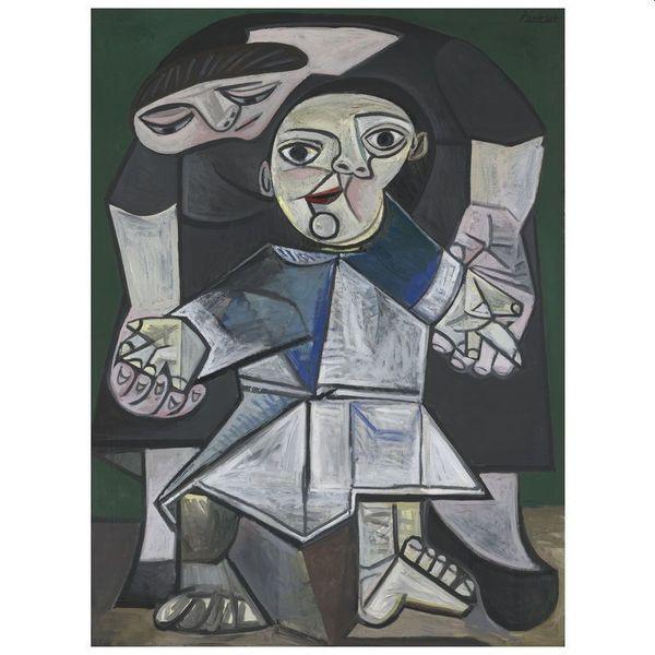 Pablo Picasso, First Steps (1943), Yale University Art Gallery (Για να θυμόμαστε εμείς οι μανάδες ότι η πιο σημαντική δουλειά μας είναι να μαθαίνουμε στα παιδιά το πώς να πορεύονται μόνα τους στη ζωή)