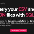 Flatbase - Query your CSV and JSON files with SQL.