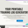 My Training Logs: Printable Strength Training Logs