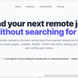 Remote Leaf | Receive hand-picked remote jobs posted anywhere delivered straight to your inbox