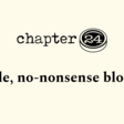 Chapter24 - Simple, no-nonsense blogging...