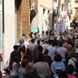 'Salvem lo Pallars' es manifesta a Tremp contra la proliferació de projectes de macrocentrals eòliques i solars