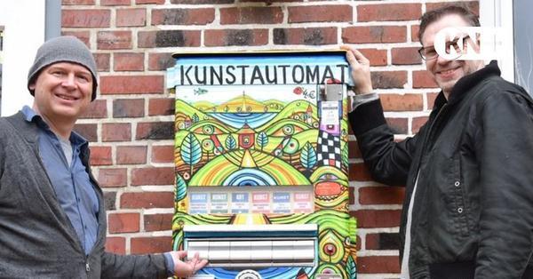 Plön: An der Alten Meierei steht der erste Kunstautomat im Kreis