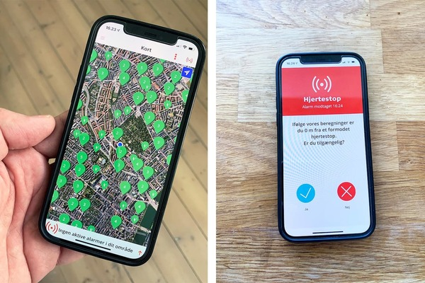 An app that swiftly sends CPR volunteers to heart attack sufferers has made a big difference in Denmark. Could this be copied in the U.S.?