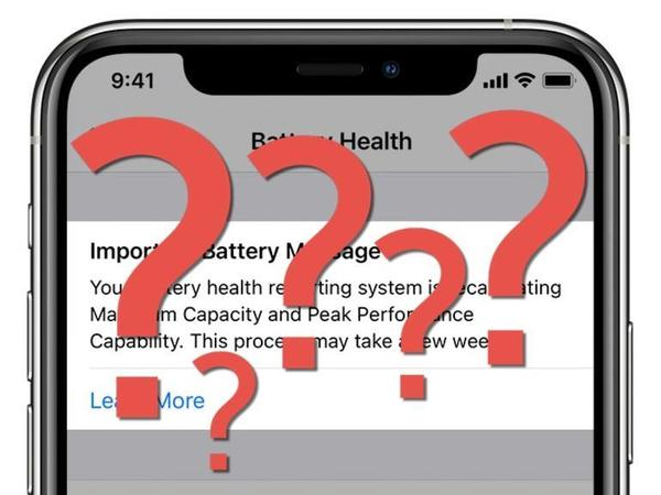 What happens when iOS 14.5 finishes recalibrating your iPhone's battery?