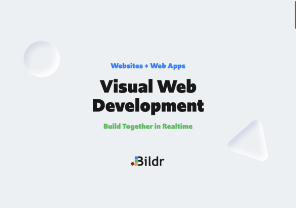 Bildr - No-code websites and web apps for professionals