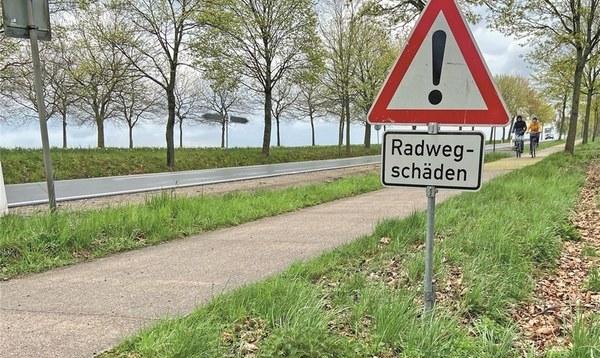 Verkehr am Weltvogelpark: Straße neu, aber der Radweg bleibt marode - Heidekreis - Walsroder Zeitung