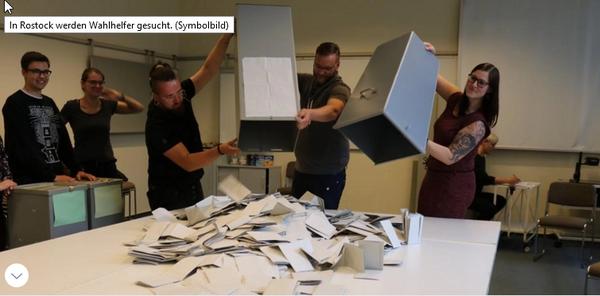 Rostock sucht 1900 Wahlhelfer: Warum es schwierig sein kann, sie zu finden