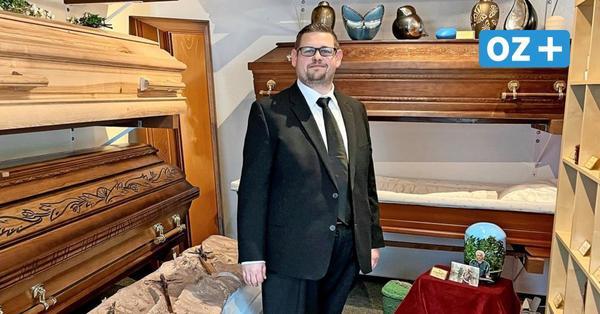 Wie Marco Helwig aus Admannshagen vom Musiker zum Bestatter wurde – und dabei 60 Kilo abnahm