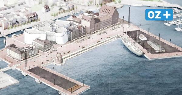 Chillen und Schiffe gucken: Stralsunder Hafeninsel am Ozeaneum wird umgebaut