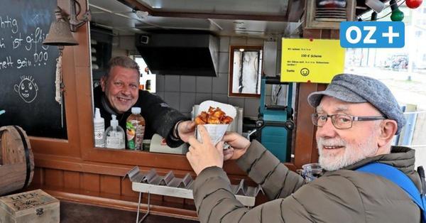 Imbiss to go in Stralsund: Wo es auch im Lockdown gute Snacks gibt