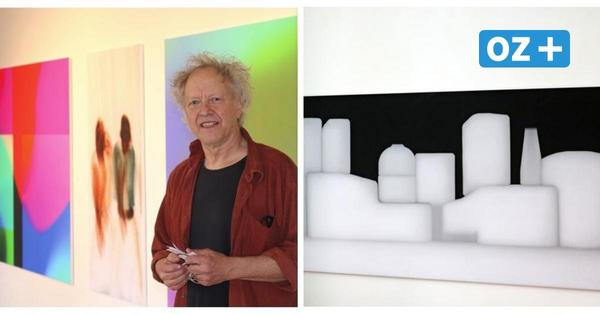 Neue Ausstellung in Kröpelin: Gerhard Benz stellt Werke zur Schau