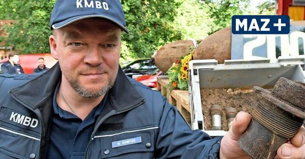 Bombenentschärfung morgen in Potsdam: Die Bombe liegt unter dem Radweg