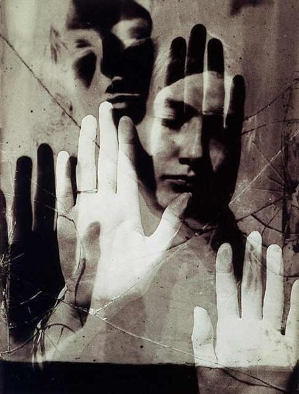 Dora Maar, by Man Ray, 1936. While Maar was a muse of Picasso and he painted her many times, she also modeled for Ray as in this photo of her. She was also an artist in her own right.