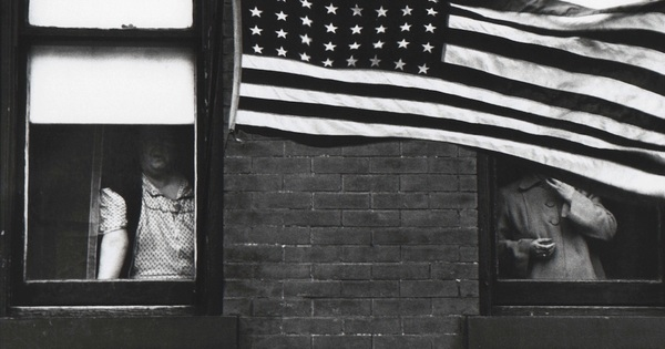 Robert Frank, Hoboken, New Jersey, 1955 Danziger Gallery, from his classic book, The Americans.