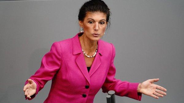 """Einspruch von links: Sahra Wagenknecht über """"Lifestyle""""-Politiker, """"Querdenker"""" und Boris Palmer"""