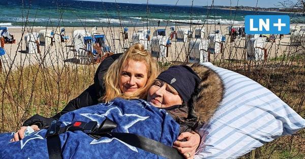 Ein letztes Mal nach Timmendorfer Strand: Krebspatientin nimmt Abschied von der Ostsee