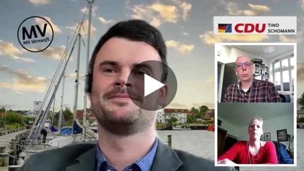 Neuer Landrat Tino Schomann 33, CDU (Youtube)