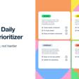 Notion | Daily task prioritizer template: Eisenhower matrix