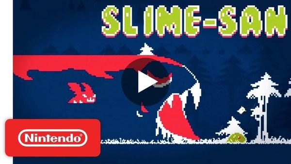 Slime-san Launch Trailer - Nintendo Switch