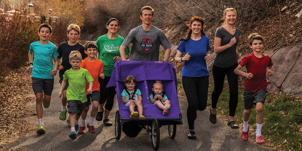 Running with Crocs: The Huge Pachev Family and Their Peculiar Footwear