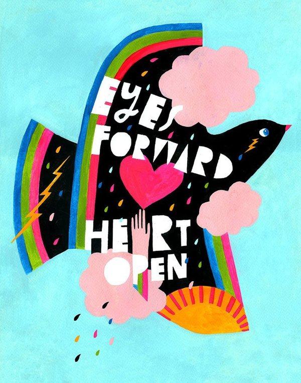 Eyes Forward - Art Print – Lisa Congdon